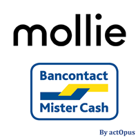 Picture of Mollie-compatible Bancontact/MisterCash payment plug-in for nopCommerce