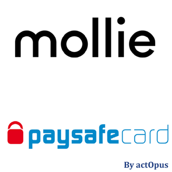 Picture of Mollie-compatible PaySafeCard payment plug-in for nopCommerce